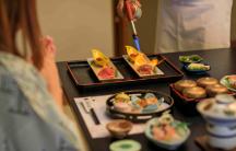 A5和牛静岡そだちステーキと当館名物炙り鮨「グルメ満喫」コース