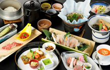 伊豆の味覚を堪能する「伊豆会席」コース